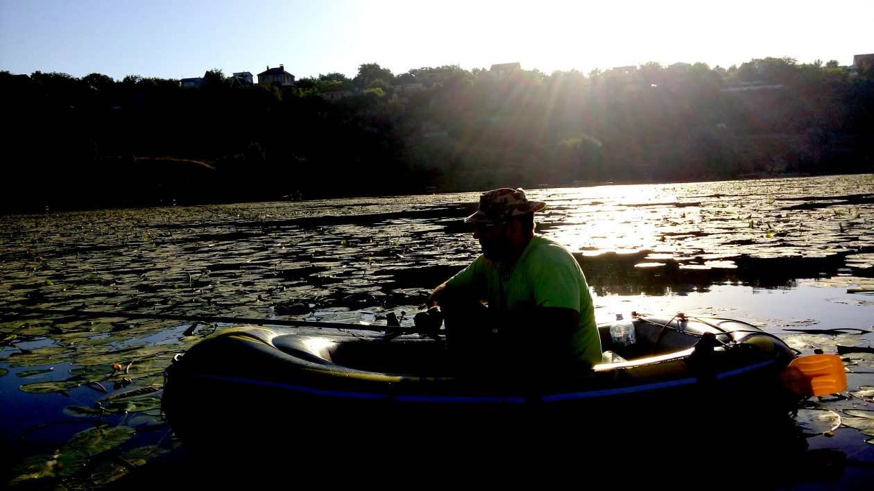 рыбалка на реке суходол